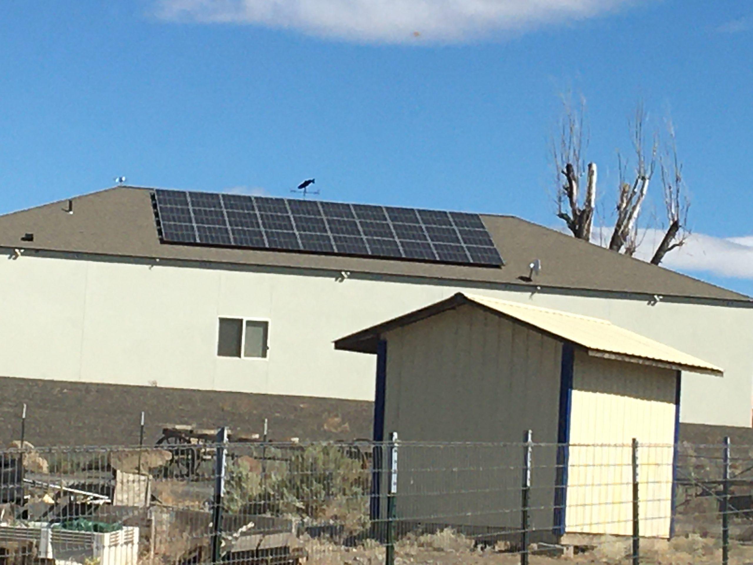 9.9kW Roof Mount +Storage, Prosser, WA